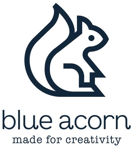 brand-logo-design-blue-acorn-logo