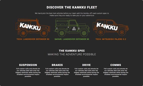 We created a new web site for our clients Kankku