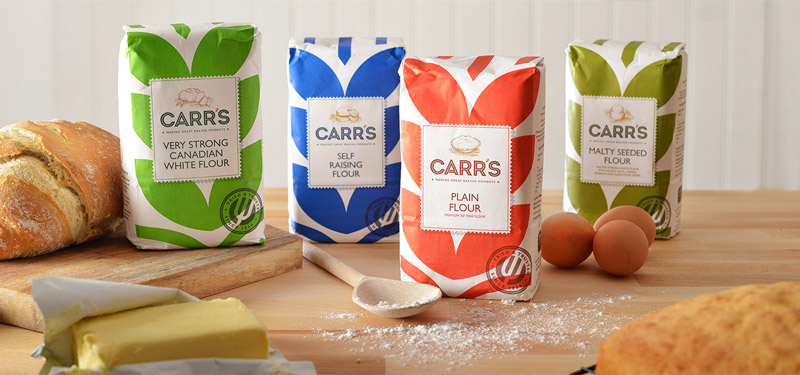 Food packaging design _ Carr's flour