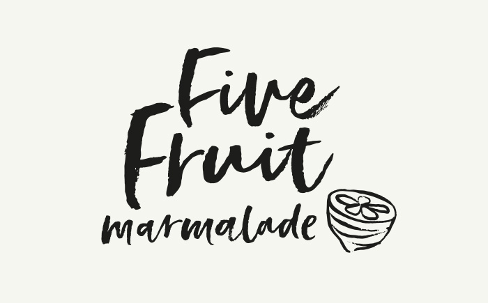 Five Fruit Marmalade _ Hawkshead Relish _ package design
