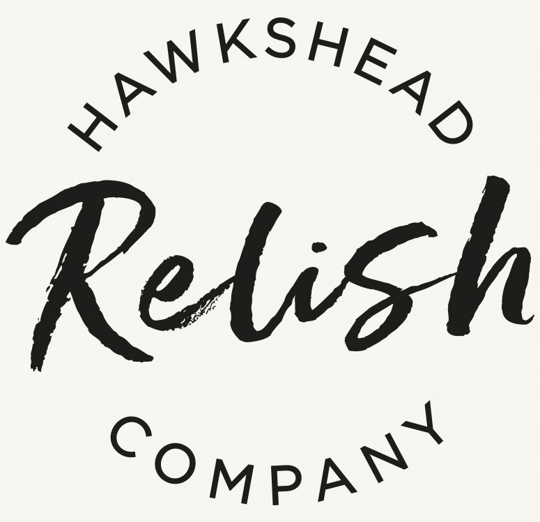 Hawkshead Relish logo design and branding _ cumbria