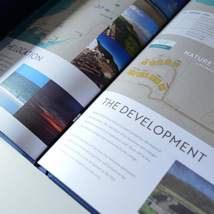 Propety sales brochure by Eclectic Creative_natural land