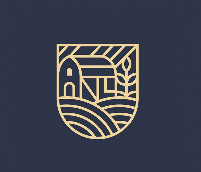 Branding design for Natural Land in Cumbria by Eclectic Creative